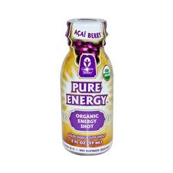 Genesis Today, Pure Energy, Organic Energy Shot, Acai Berry, 2 fl oz (59 ml)