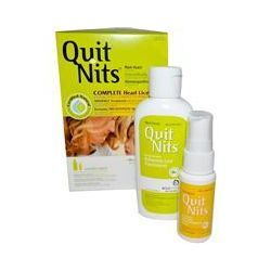 Hyland's, Quit Nits, Complete Head Lice Kit, 4 Piece Kit