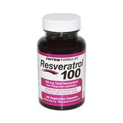 Jarrow Formulas, Resveratrol 100, 60 Veggie Caps
