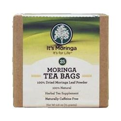 It's Moringa, Moringa Tea Bags, Caffeine Free, 25 Tea Bags, 2.6 oz (75 g)