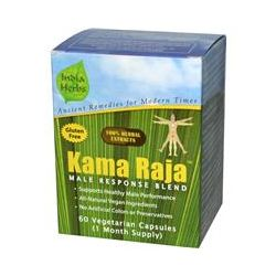 India Herbs, Kama Raja for Male Virility, Male Response Blend, 60 Veggie Caps