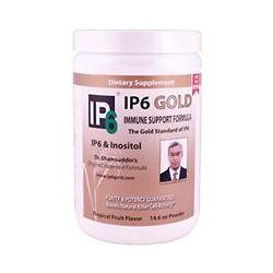 IP-6 International, IP6 Gold, Immune Support Formula, Tropical Fruit Flavor, Powder, 14.6 oz