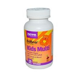 Jarrow Formulas, KidBear, Kids Multi, Multi-Vitamin & Mineral, Cherry Flavor, Children's Chewable, 120 Tablets