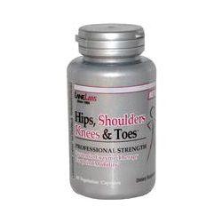 Lane Labs, Hips, Shoulders, Knees, & Toes, 60 Veggie Caps