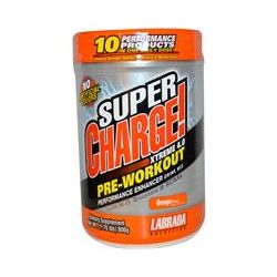 Labrada Nutrition, SuperCharge! Xtreme 4.0, Pre-Workout, Orange Flavor, 1.76 lbs (800 g)