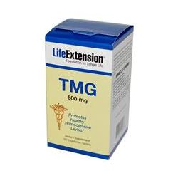 Life Extension, TMG, 500 mg, 60 Veggie Tabs