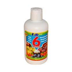 Life Time, 6 Blend Fruit Juice, 32 fl oz