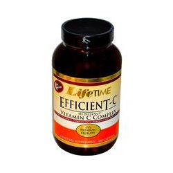Life Time, Efficient-C, Hi-Potency Vitamin C  Complex, 180 Capsules