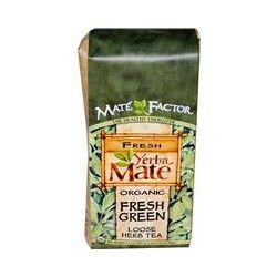 Mate Factor, Organic Yerba Mate, Fresh Green, Loose Herb Tea, 12 oz (340 g)