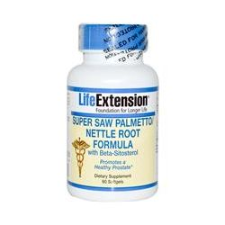 Life Extension, Super Saw Palmetto Nettle Root Formula with Beta-Sitosterol, 60 Softgels
