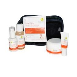 MyChelle Dermaceuticals, Clear Skin Youth Anthology, 4 Piece Kit