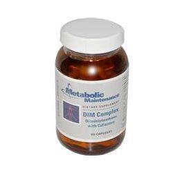 Metabolic Maintenance, DIM Complex, Diindolylmethane with CoFactors, 60 Capsules