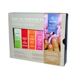 Weleda, Body Oils, Essential Kit, 6 Oils, (0.34 fl oz Each)