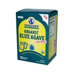 Wholesome Sweeteners, Inc., Organic Light Blue Agave Packets, 35 Packets, 7 g Each