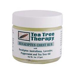 Tea Tree Therapy, Eucalyptus Chest Rub, 2 oz (57 g)