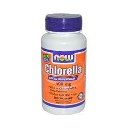 Now Foods, Chlorella, 400 mg, 100 Vcaps
