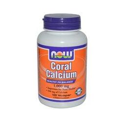 Now Foods, Coral Calcium, 1000 mg, 100 Vcaps