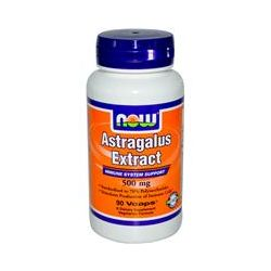 Now Foods, Astragalus Extract, 500 mg, 90 Vcaps
