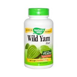 Nature's Way, Wild Yam Root, 425 mg, 180 Vcaps