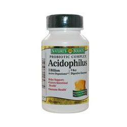 Nature's Bounty, Acidophilus, Probiotic Complex, 60 Tablets