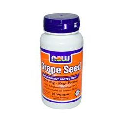 Now Foods, Grape Seed, Mega Potency, 250 mg, 90 Vcaps