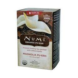 Numi Tea, Magnolia Pu•Erh, 16 Tea Bags, 1.13 oz (32 g)