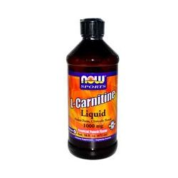 Now Foods, L-Carnitine Liquid, Tropical Punch Flavor, 1000 mg, 16 fl oz (473 ml)