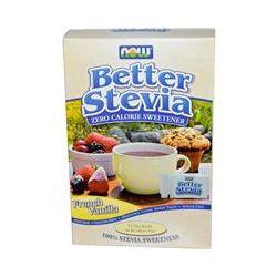 Now Foods, BetterStevia, Zero Calorie Sweetener, French Vanila, 75 Packets, 2.65 oz (75 g)