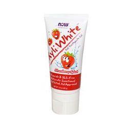 Now Foods, XyliWhite Kids Toothpaste Gel, Fluoride-Free, Strawberry Splash, 3.0 oz (85 g)