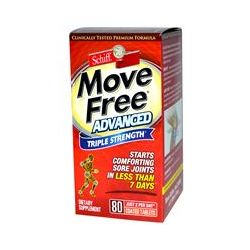 Schiff, Move Free Advanced, Triple Strength, 80 Coated Tablets