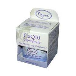 Orjene Organics, CoQ10 OliveVitale, Age Recovery Night Treatment, 2 oz (57 g)