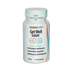 Rainbow Light, Get Well Soon, 45 Tablets