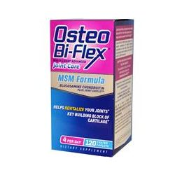 Osteo Bi-Flex, MSM Formula, With 5-Loxin Advanced Joint Care, 120 Coated Caplets