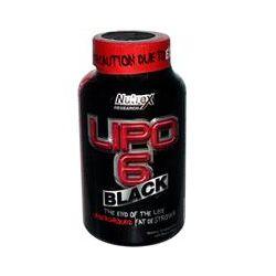 Nutrex Research Labs, Lipo 6 Black, Underground Fat Destroyer, 120 Black-Caps