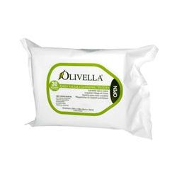 Olivella, Daily Facial Cleansing Tissues, 30 Tissues, 7.87 in x 7.08 in (20 cm x 18 cm)