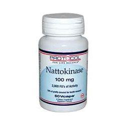 Protocol for Life Balance, Nattokinase, 100 mg, 60 Vcaps