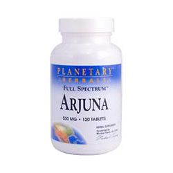 Planetary Herbals, Arjuna, Full Spectrum, 550 mg, 120 Tablets