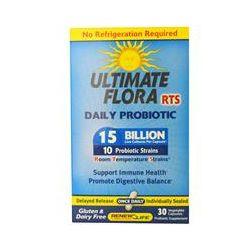 Renew Life, Ultimate Flora, RTS Daily Probiotic, 15 Billion, 30 Veggie Caps
