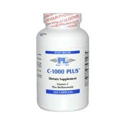 Progressive Laboratories, C-1000 Plus, Vitamin C Plus Bioflavonoids, 250 Capsules