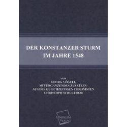 Bücher: Der Konstanzer Sturm im Jahre 1548  von Georg Vögeli