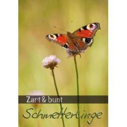 Bücher: Zart & bunt: Schmetterlinge (PosterbuchDIN A4 hoch)  von Calvendo