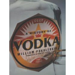 A History of Vodka by William Pokhlebkin, 9780860913597.