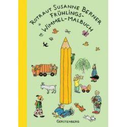 Bücher: Frühling-Wimmel-Malbuch  von Rotraut Susanne Berner