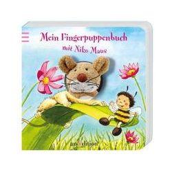 Bücher: Mein Fingerpuppenbuch mit Niko Maus  von Andrea Gerlich, Antje Flad