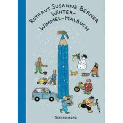 Bücher: Winter-Wimmel-Malbuch  von Rotraut Susanne Berner