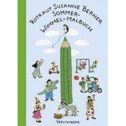 Bücher: Sommer-Wimmel-Malbuch  von Rotraut Susanne Berner
