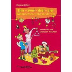 Bücher: Eins-zwei-drei-vier Weihnachten steht vor der Tür  von Reinhard Horn