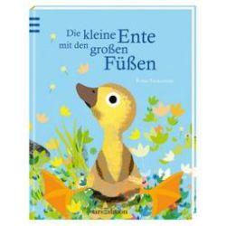 Bücher: Die kleine Ente mit den großen Füßen  von Britta Teckentrup