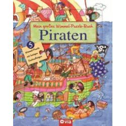 Bücher: Mein großes Wimmel-Puzzle-Buch - Piraten