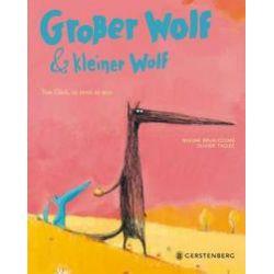Bücher: Großer Wolf & kleiner Wolf - Vom Glück, zu zweit zu sein  von Oliver Tallec, Nadine Brun-Cosme
